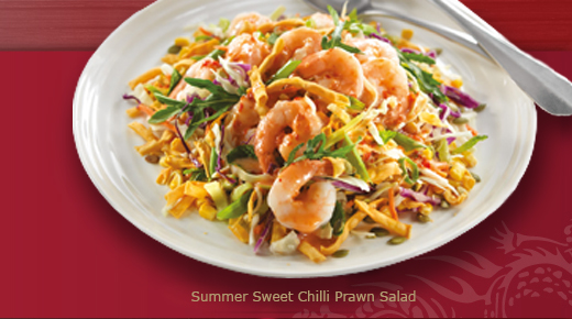 Spicy Tiger Prawn Singapore Noodles